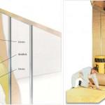 Wallfelt - Isolação para paredes de gesso